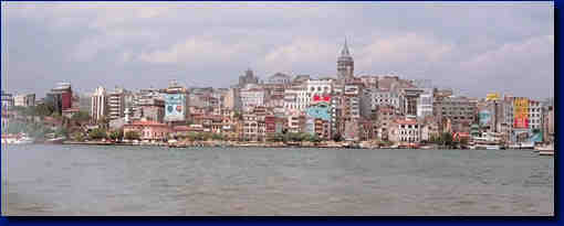 Galata - The harbour of Constantinople
